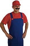 80's Plumbers Mate Red Costume
