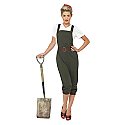 Land Girl costume online offer