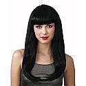 fantasy black wig