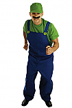 80's Plumbers Mate Green Costume